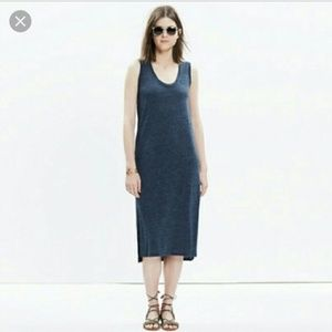 Madewell Grey Jersey Tank Dress